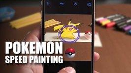 Mad Stuff With Rob - Pokemon Speed Painting  Pikachu  Pokemon Go