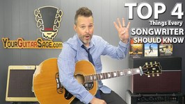 Top 4 Things Every Songwriter Should Know About the Guitar