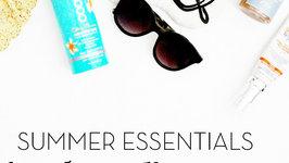 Summer Essentials Part 2: Sun Care Plus Bronzing