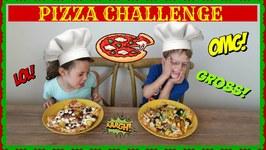 Pizza Challenge - Toy Box Magic Kids Eat Gross Pizza