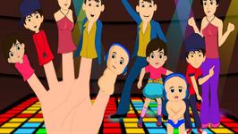 Disco Finger Family - Animated Finger Family Rhymes
