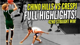LaMelo Ball Hits Half Court Shots Like Layups Chino Hills vs Crespi Full Highlights