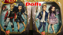 Disney Descendants 2 Pack Doll Reviews
