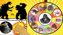 KING KONG Vs GODZILLA GAME Kong Skull Island Plus Godzilla Surprise Toys Slime Wheel Kids Games