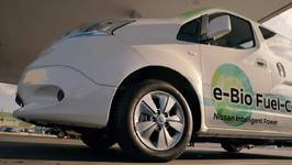 Nissan unveils worlds first Solid-Oxide Fuel Cell vehicle Charging