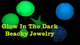Easy Beachy Glow in the Dark Jewelry - Craft Klatch Resin Series