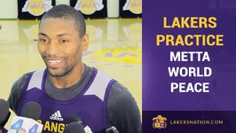 Metta World Peace On Making Lakers 15-Man Roster