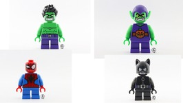 First Look at the Mighty Micro LEGO Super Heroes Minifigures