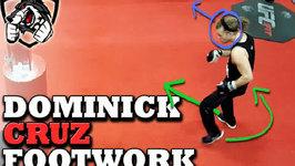 Dominick Cruz Footwork Breakdown  Drills