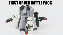 2016 LEGO Star Wars The Force Awakens First Order Battle Pack Review -LEGO 75132