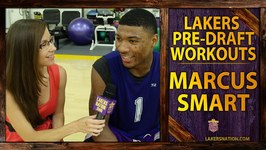 Lakers Nation Interviews Marcus Smart After Lakers Pre-Draft Workouts