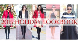 5 Holiday Outfits for All Occasions Lookbook