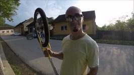Freewheel Unicycle experiment