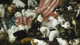 Largest Cat Painting In The World Sells For Almost 1 Million Dollars