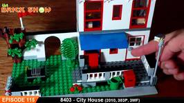 LEGO City House Review - LEGO 8403 Review