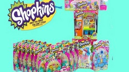 Shopkins Season 3 Opening - Shopkins Season 1 And 2 Haul - Part 1