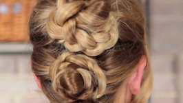 How To Do A Plaited Updo