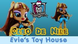 Monster High Cleo De Nile Custom My LIttle Pony Equestria Girls Mini Doll Tutorial
