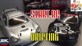 Begin your RC Drift car hobby plus Mission D unboxing