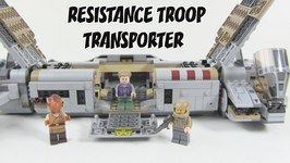 2016 LEGO Star Wars The Force Awakens Resistance Troop Transporter Review - LEGO 75140