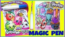 Imagine Ink Shopkins - Kooky Cookie Rainbow Swirl - Color Magic Pen