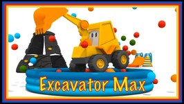 COOL CAREERS with Excavator Max  - Find the Star - Children's Cartoons