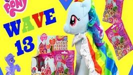 My Little Pony Blind Bags Wave 13 Rainbow Dash Build A Bear