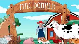 Old MacDonald Had a Farm - Nursery Rhyme for Children - Animal Sounds