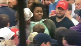 Black Woman Assaulted at Trump Rally VIDEO