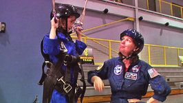 This is Emily Yeung Training to be an Astronaut