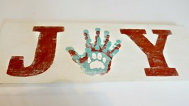 Diy: How To Make A Vintage Wood Sign - Handmade Holidays YTMM
