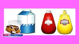 Drinks and Condiments - Level 2 English Lesson 13 - Speak English - Kids Nutrition - Common Food