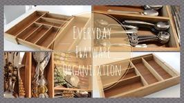 Home Organization: Everyday Flatware Organization