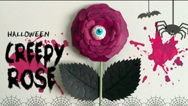 Halloween Creepy Rose