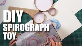 Mad Stuff With Rob - DIY Spirograph Toy  Collaboration with a 7 year old
