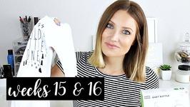 Twin Pregnancy Vlog: Weeks 15 and 16