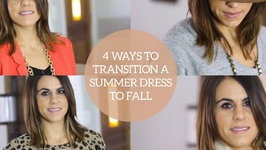 4 Ways to Transition a Summer Dress into Fall
