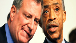 Mayor de Blasio Caught Between Protesters and NYPD, Stephen Collins Admission