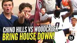 Chino Hills Show Out for Sold out Crowd With Big Dunks Full Highlights Chino Hills vs Woodcreek