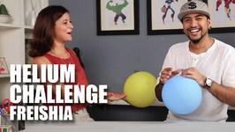 Mad Stuff With Rob - Helium Challenge  Freishia
