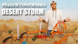 Mad Stuff With Rob - BuildWithHotWheels - Desert Storm  Hot Wheels