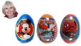 Disney Minnie Mouse Surprise Egg, Pixar Planes, and Spider-Man Surprise Easter Eggs
