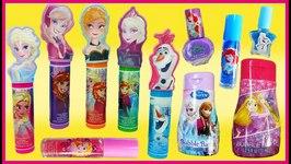Beauty Haul Dinsey Princess & Frozen - Lip Balm Lip Gloss Nail Polish - Ariel, Elsa