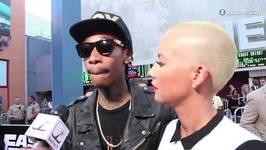 Topless Amber Rose takes A Steamy Shower