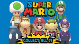 Super Mario Toys Knex S4 Blind Bags Opening With Bonus Transformers And Legos