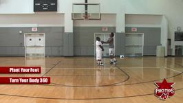 How to do the 360 Basketball Layup Shot to Avoid a Charge