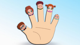 Finger Family  Children's Popular Nursery Rhymes