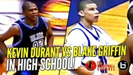 Kevin Durant vs Blake Griffin In High School Highlights Ty Lawson And Sam Bradford Too