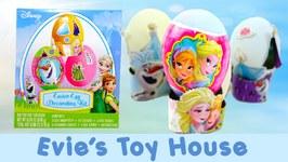 Disney Frozen Fever Easter Egg Decorating Kit Review