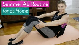 How To Get A Tighter Tummy - 6 Minute Follow Along Ab Workout For the Summer
